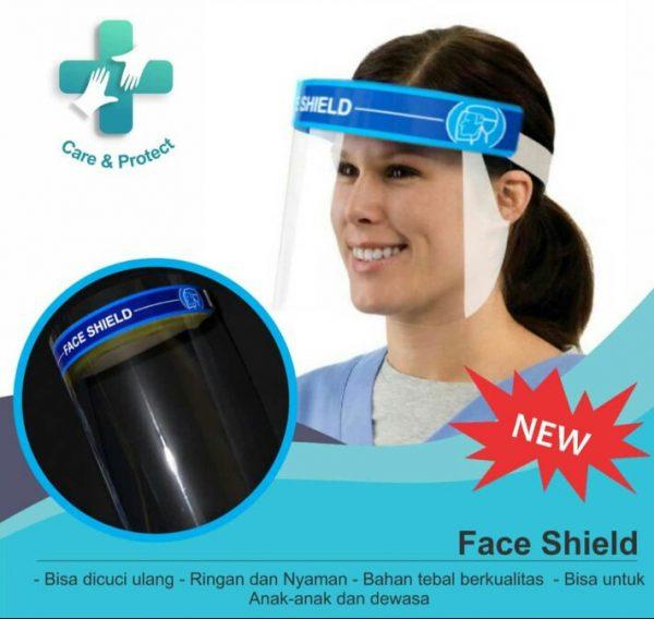 face shield grosir