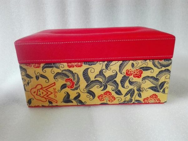 kotak tempat tisu custom