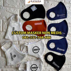 masker non medis custom