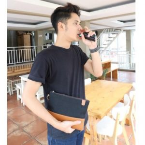 bikin handbag kulit custom
